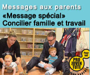 Messages aux parents